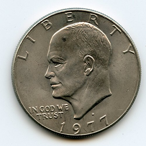 1977 D Eisenhower Dollar MS-66