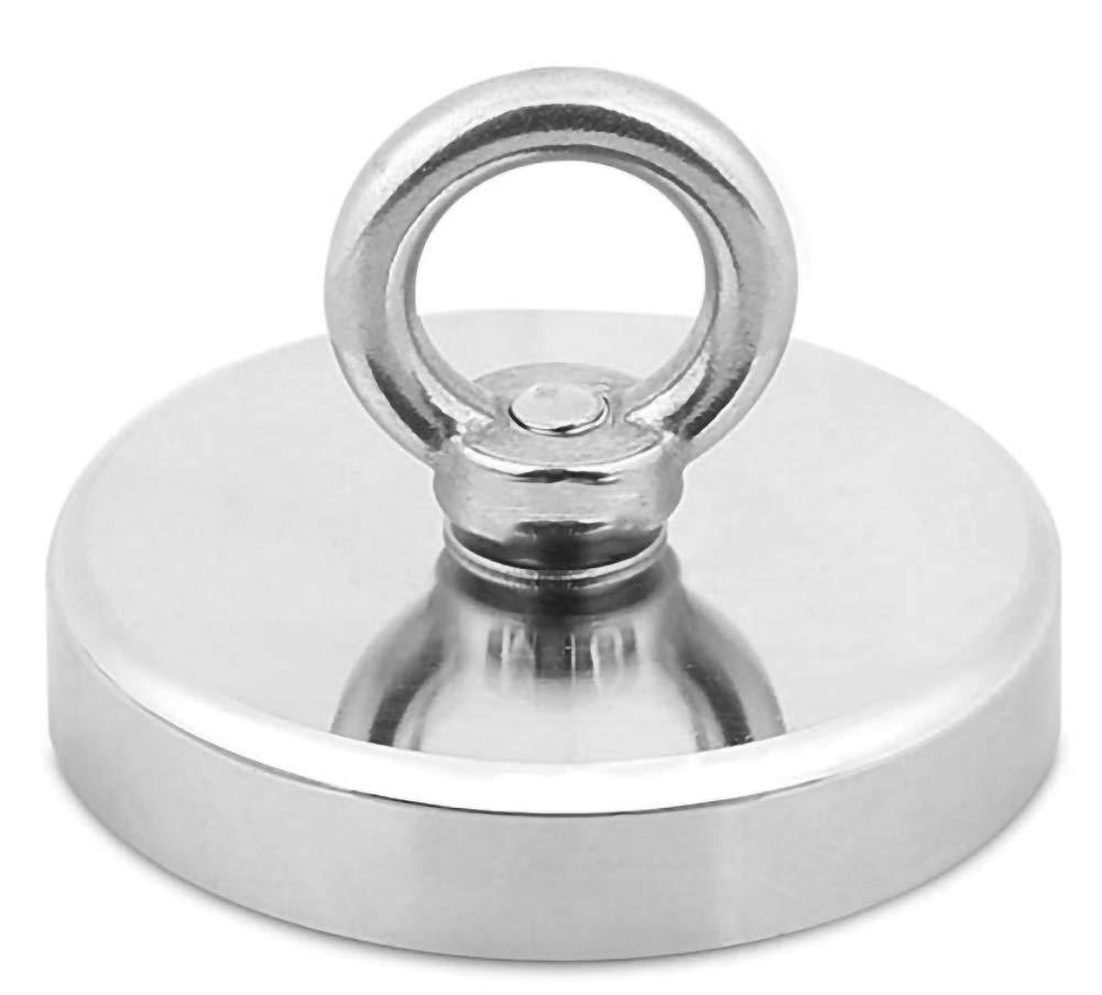 25mm attraction 14KG Silver 25//32//36//42//48//60 mm Pots Anneau magn/étique pour p/êche en n/éodyme R/ésistant Aimant de sauvetage