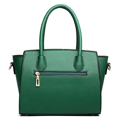Green femme Lulu Sacoches Miss 1625 xnOvqw