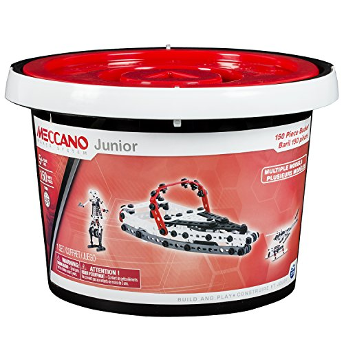 Meccano-Erector Junior 150 Piece Bucket