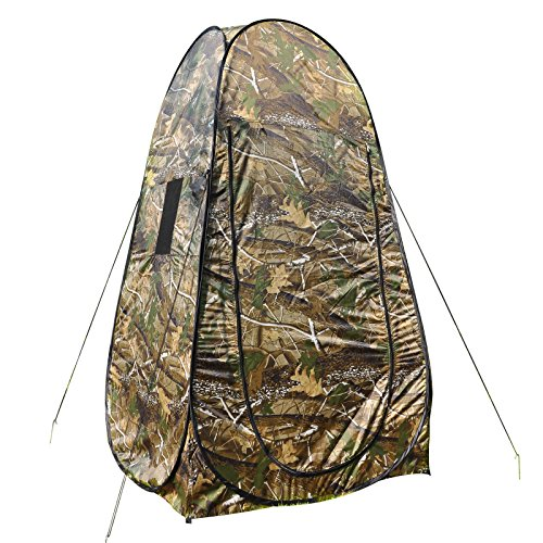 INNOVATIVE DESIGN PORTABLE POP UP TENT CAMPING FOR PRIVATE PLACE TO CHANGE CLOTHES TAKE A SHOWER OR USE THE RESTROOM.
