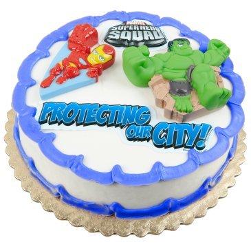 Marvel Super Hero Squad Cake Topper Kit ()