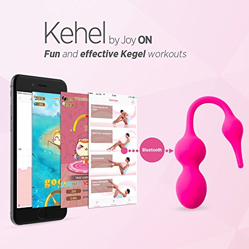 Kegel Exerciser with APP & Vibration: Doctor Recommended Kegel Balls for Beginners & Advanced for Pelvic Floor Exercises & Tightening – Women can Regain Bladder Control Now with Kehel by Joy ON Toys! by Joy ON (Image #3)