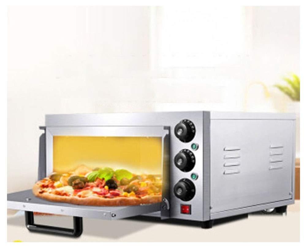 PANGU-ZC オーブントースター専用ピザストーブケーキパン電気オーブン商業ベーキング機器タイミング単層ピザオーブン -オーブン 5863 B07RRVTKKL