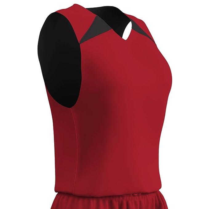 4d3f0a9e6 Amazon.com  Champro PRO WOMENS REVERSIBLE Basketball UNIFORM JERSEY TANK  TOP SHIRT  Clothing