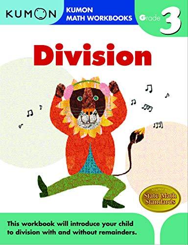Grade 3 Division (Kumon Math Workbooks) (Kumon Math Grade 3)