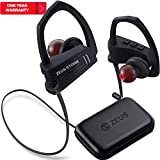 Workout Bluetooth Headphones In Ear ZEUS STORM (NEW model of 2017) Best Sport Headphones IPX5 Sweatproof Running Headphones Wireless Earbuds with Microphone Bluetooth Stereo Headset for Sports