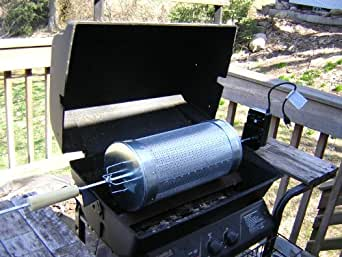 Make Your Own Chile Roaster Drum for BBQ Grills - Kindle