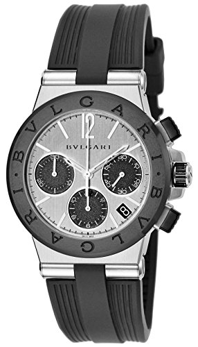 - BVLGARI Watch Diagono Black Dial DG37C6SCVDCH