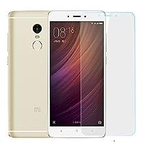 Xiaomi Redmi Note 4 Smartphone - 5.5 Inch Display, 1080P, Dual IMEI, 4G, Deca-Core CPU, 3GB RAM, 64GB ROM (Gold)