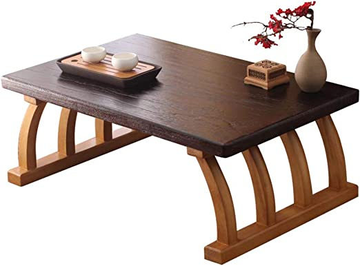 Qianding Tea Table Solid Wood Small Coffee Table Creative Carbon