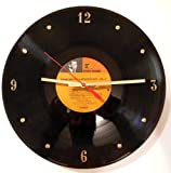 Cheap FRANK SINATRA Vinyl Record Clock. 12″ wall clock made with the original record and ready to hang.