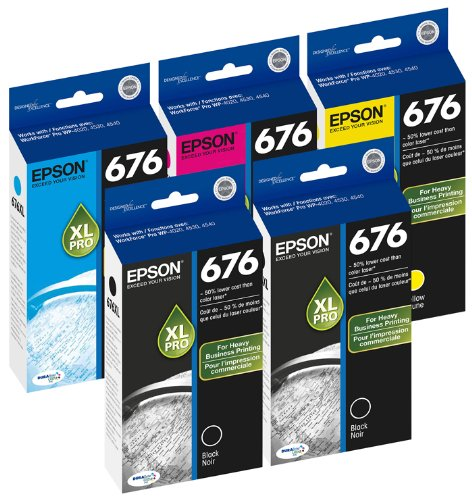 Epson DURABrite Cartridge T676XL120 T676XL220 product image