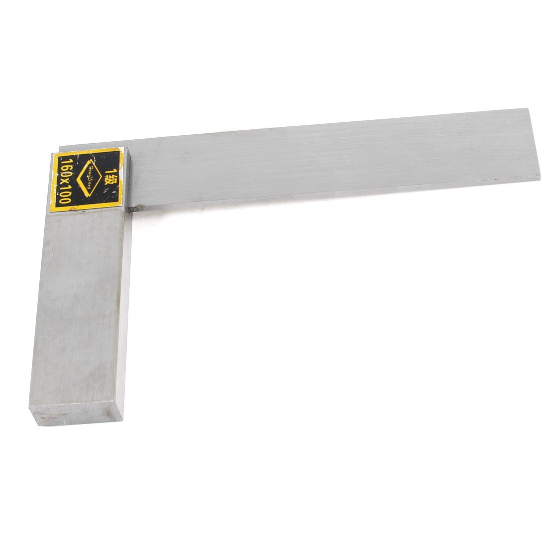 uxcell Woodwork Measurement Angle Ruler Beveled Edge Square 160mm x 100mm Scale