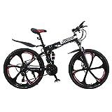 Altruism 26 Inch Mens Mountain Bikes Disc Brakes Womens Bicycle Steel Folding Bike