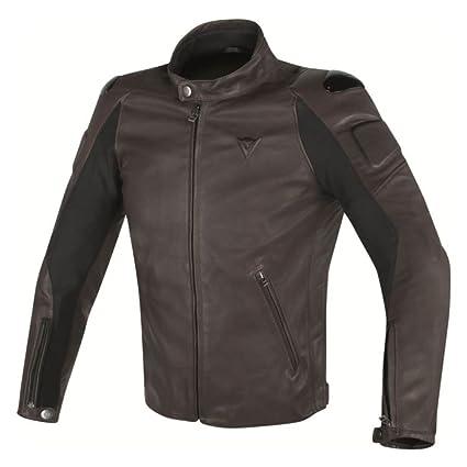 f1fcf134a Amazon.com: Dainese Street Darker Leather Motorcycle Jacket (EU 48 ...