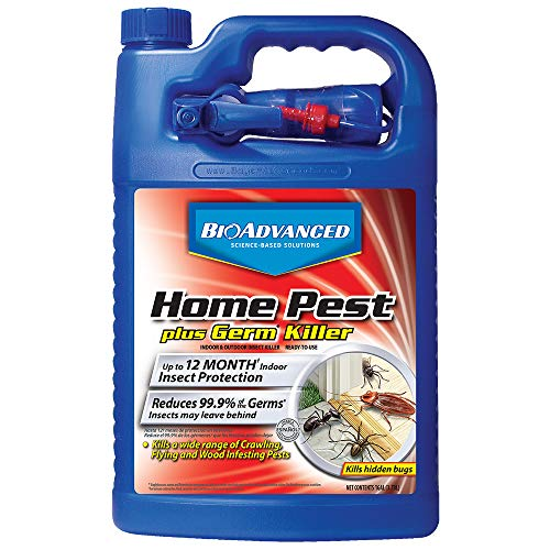 BioAdvanced 100532568 Home-pest-Control-Products, 1-Gallon, White