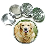 Product review for Dog Golden Retriever 02 4Pc Aluminum Grinder