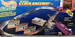 Hot Wheels Cyber Racers Motorized Cyber Raceway - 1998