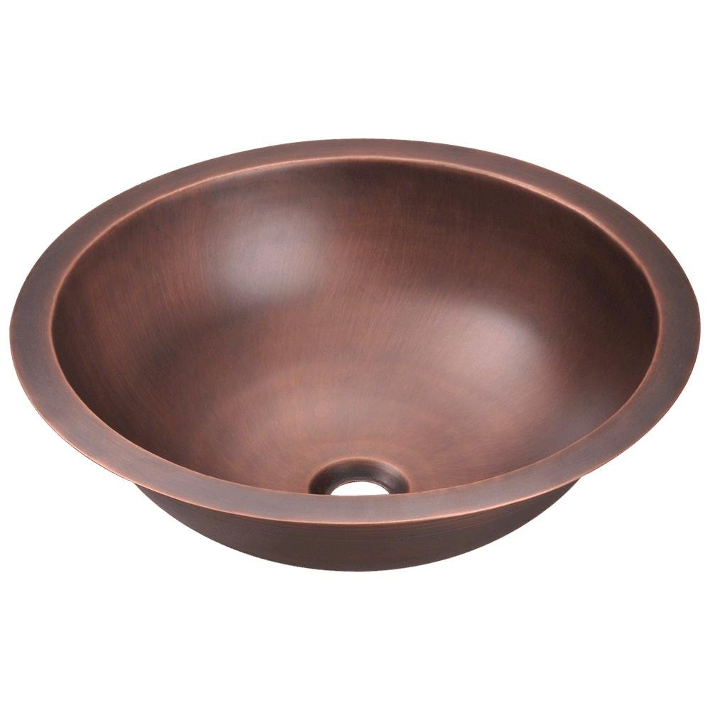922 Single Bowl Copper Bathroom Sink by MR Direct