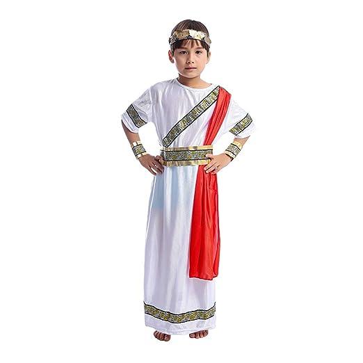 Toyvian Disfraz Romano Cosplay Niño Antiguo para el Tema de la ...