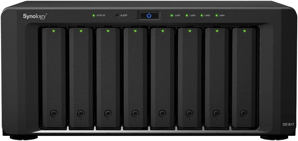 Synology DS1817/64TB-IWPRO 8 Bay NAS -