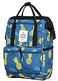 DISA 13'' Mini Small Fashion Backpack Purse | Fits 12-inch iPad Pro | Summer Pineapple