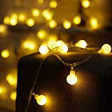 YoYo-Min 3 Meters 30 Bulbs String Light Warm Yellow Rope Light, Great Festival Holiday Halloween Christmas Wedding Home Garden Atmospher Maker