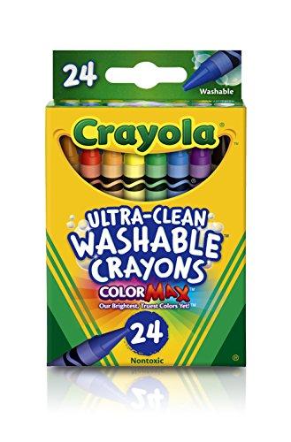 Crayola 24 Ct Washable Crayons