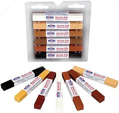 M3201202 Details Quick Fill Assortment #3 Quick-Fill Burn-In Stick Finish Various colors