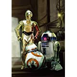 Awakening - of the 108-piece jigsaw puzzle Star Wars Force R2-D2, C-3PO & BB-8 (18.2x25.7cm)