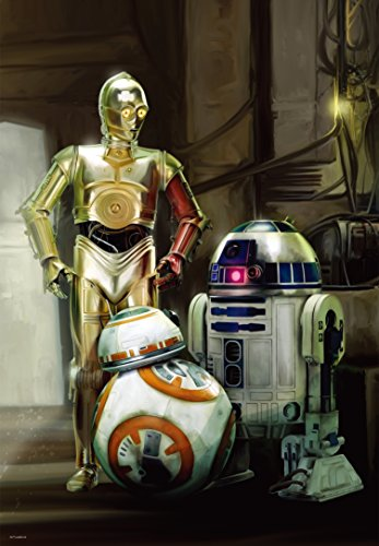Price comparison product image 108-piece jigsaw puzzle Star Wars ~ Awakening of Force ~ R2-D2, C-3PO & BB-8 (18.2x25.7cm)