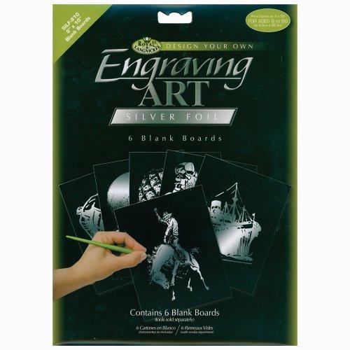 Scratchboards & Foil Engraving