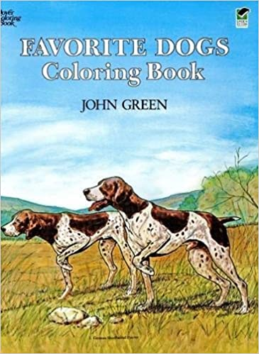 Favorite Dogs Coloring Book Soren Robertson John Green 9780486245522 Amazon Books