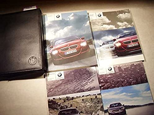 2007 bmw m6 owners manual bmw amazon com books rh amazon com 6 Series BMW Manual Transmission 2018 BMW M3 Manual