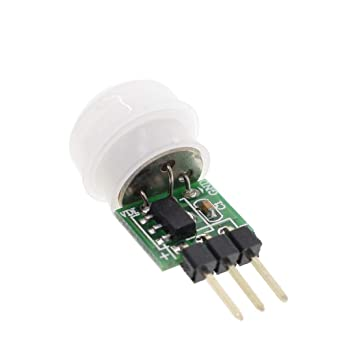 Mini IR Pyroelectric Infrared PIR Motion Human Sensor Automatic Detector Module AM312 Sensor DC 2.7 to 12V: Amazon.com: Industrial & Scientific