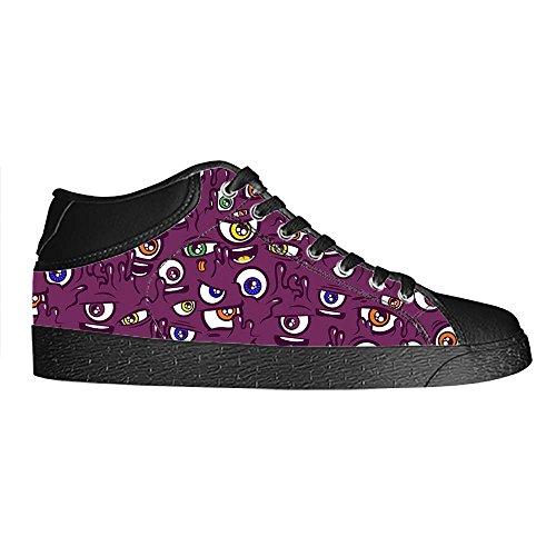 Dalliy eye pattern Mens Canvas shoes Schuhe Lace-up High-top Sneakers Segeltuchschuhe Leinwand-Schuh-Turnschuhe E