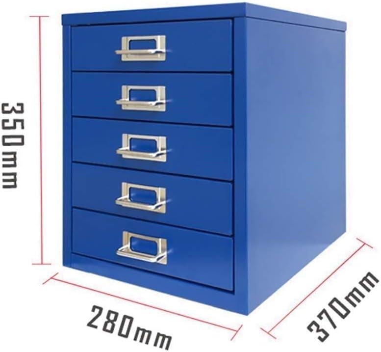 BRL 袖机・デスクサイド収納 内閣は、ストレージキャビネット、デスクトップ拡張引き出しオフィスオーガナイザー(鋼板)37 * 28 * 35CMファイルファイル ファイルキャビネット (Color : B)