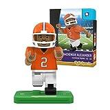 NCAA Clemson Tigers Mackenzie Alexander Gen 2 Player Mini Figure, Small, Black