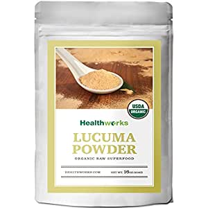 Healthworks Lucuma Powder Raw Organic, 1lb
