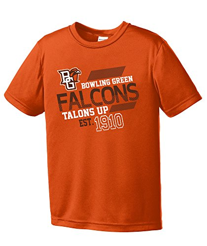 alcons Youth Boys Offsides Short sleeve Polyester Competitor T-Shirt, Youth Medium,Orange ()