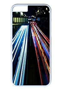 iPhone 6 plus Cases & Covers - Highway Lights Custom PC Hard Case Cover for iphone 6 plus 5.5 inch White