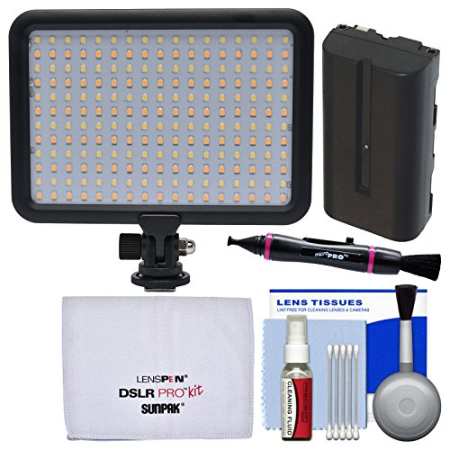 Savage Luminous Pro LED Video Light with Battery + Cleaning Kit