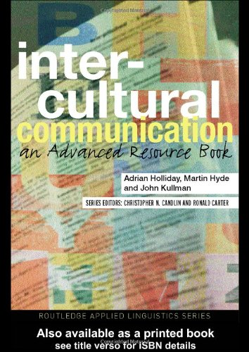 Intercultural Communication an Advancd Resource Book