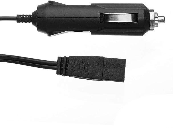 Viviance 12V 10A Mini Fused Car Cool Fridge Cooler Box Cigarette Cable Wire Power Lead 2.5M