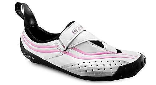 Bont Sub 8 Scarpe da Ciclismo Triathlon Bianco/Rosa Taglia 41