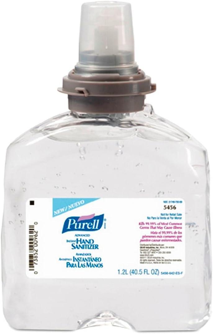 Amazon Com Purell 5456 04 Instant Hand Sanitizer Refill 4