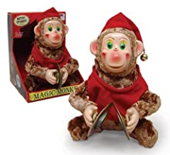 Cymbalic Monkey You know the one-big stupid grin, chatters, jumps up and down, pounds really annoying cymbals together and won't stop...an American classic. The originals from the '50s bring $75 or so on Ebay, but you can get your own brand-n...