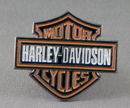 Metal Enamel Pin Badge Brooch Harley Davidson Insignia Logo