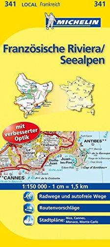 Michelin Französische Riviera/Seealpen
